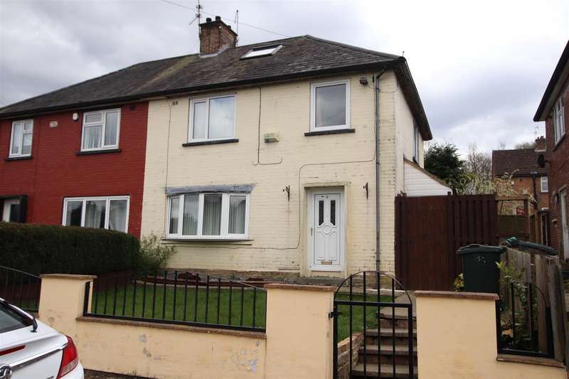 3 Bedrooms Semi Detached House for sale in Rokeby Gardens, Bradford. BD10.