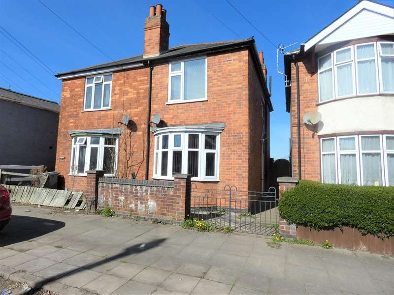 3 Bedrooms Semi Detached House for sale in Marston Road, Off Gipsy Lane, Leicester