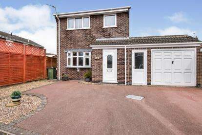 3 Bedrooms Detached House for sale in Wheeldale, Wigston, Leicester, Leicestershire