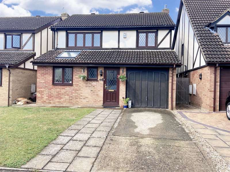 4 Bedrooms Detached House for sale in Mentmore Gardens, Leighton Buzzard