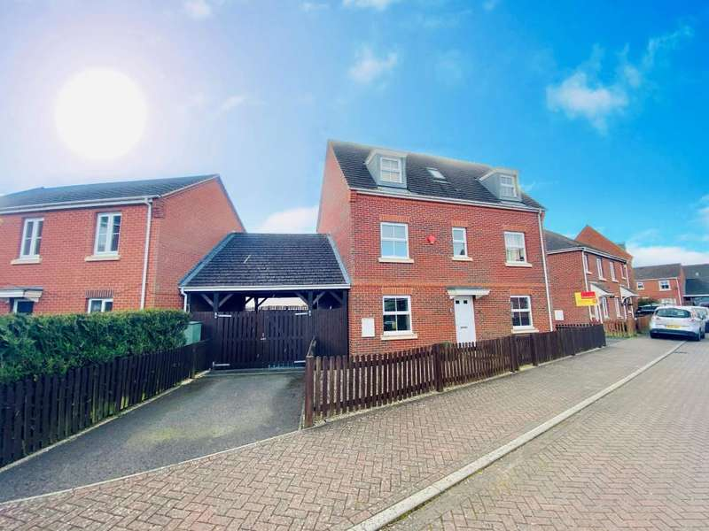 4 Bedrooms Detached House for sale in Thatcham, Berkshire, RG19