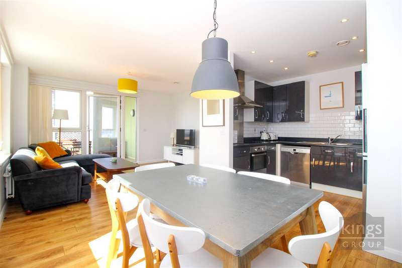 2 Bedrooms Flat for sale in Cannon Road, London