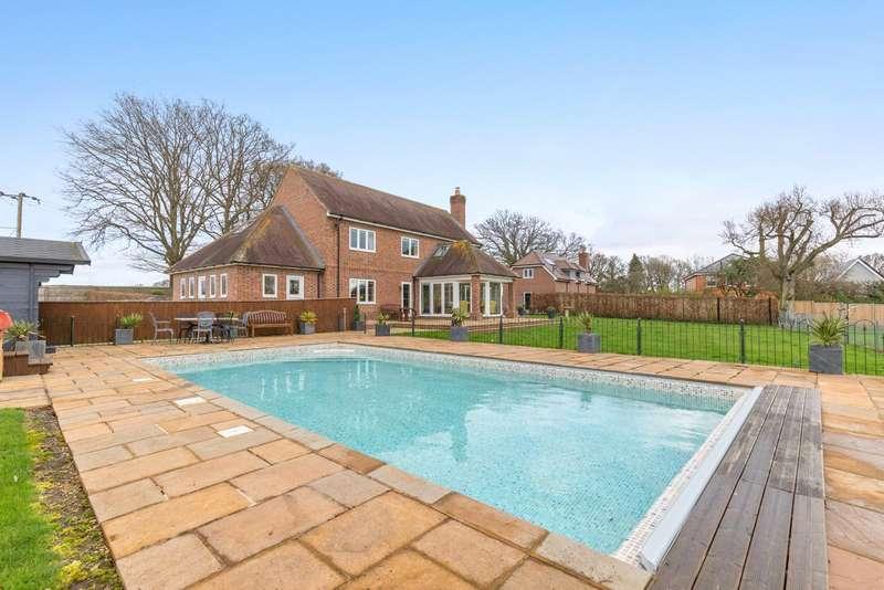 6 Bedrooms Detached House for sale in Enborne Street, Enborne, Newbury, Berkshire