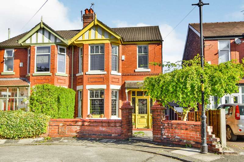 3 Bedrooms Semi Detached House for sale in Kingsway Avenue, Manchester, Greater Manchester, M19