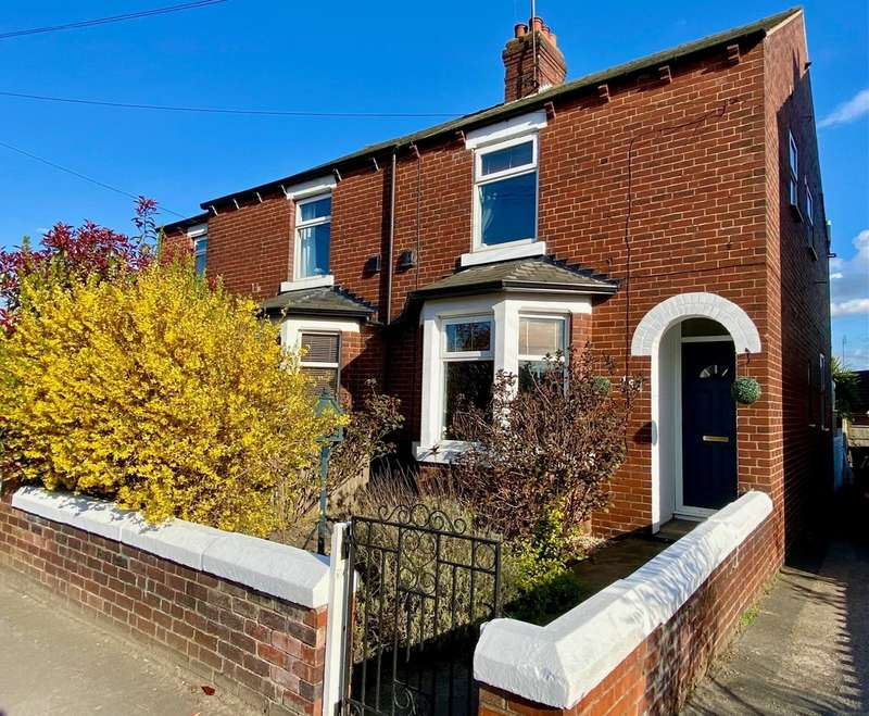 3 Bedrooms Semi Detached House for sale in Church Road, Altofts