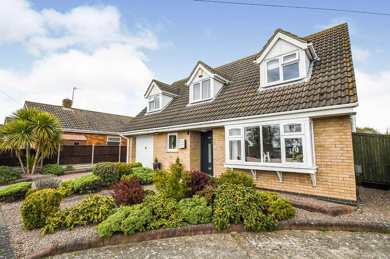 3 Bedrooms Detached House for sale in Alderney Way, North Hykeham, Lincoln, Lincolnshire, LN6
