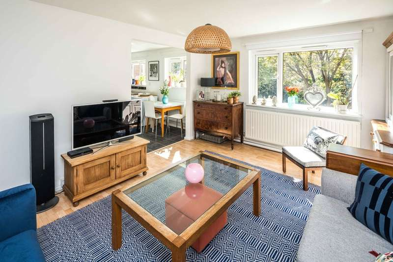 2 Bedrooms Flat for sale in Springhill Close, London