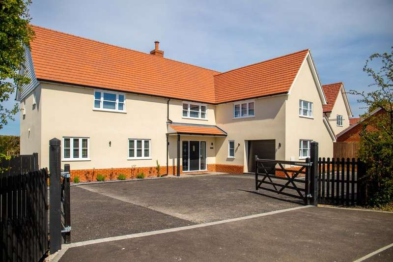 5 Bedrooms Detached House for sale in Nazeing Common, Bumbles Green, Nazeing, EN9