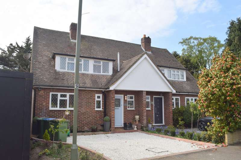 3 Bedrooms Semi Detached House for sale in Thrupps Lane, Hersham, Walton-On-Thames, KT12