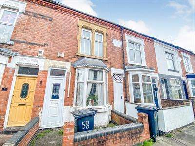 3 Bedrooms Terraced House for sale in Sylvan Street, Newfoundpool, Leicester