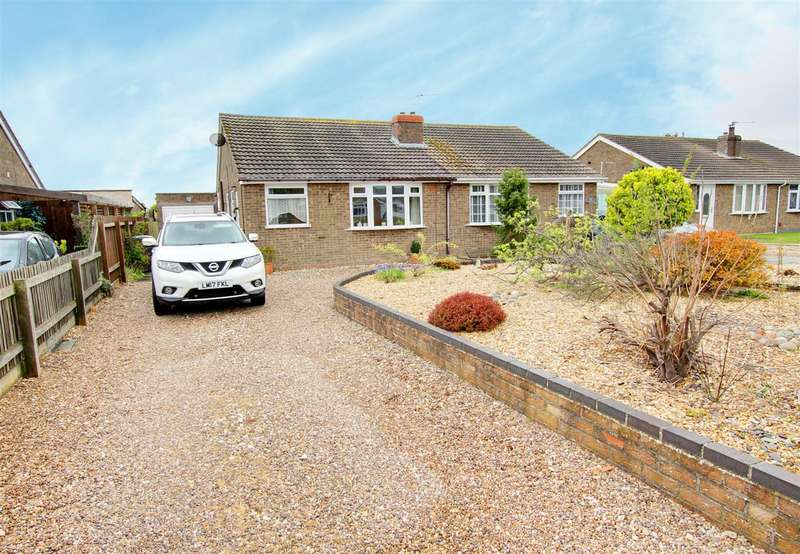 2 Bedrooms Semi Detached Bungalow for sale in Winchester Drive, Mablethorpe