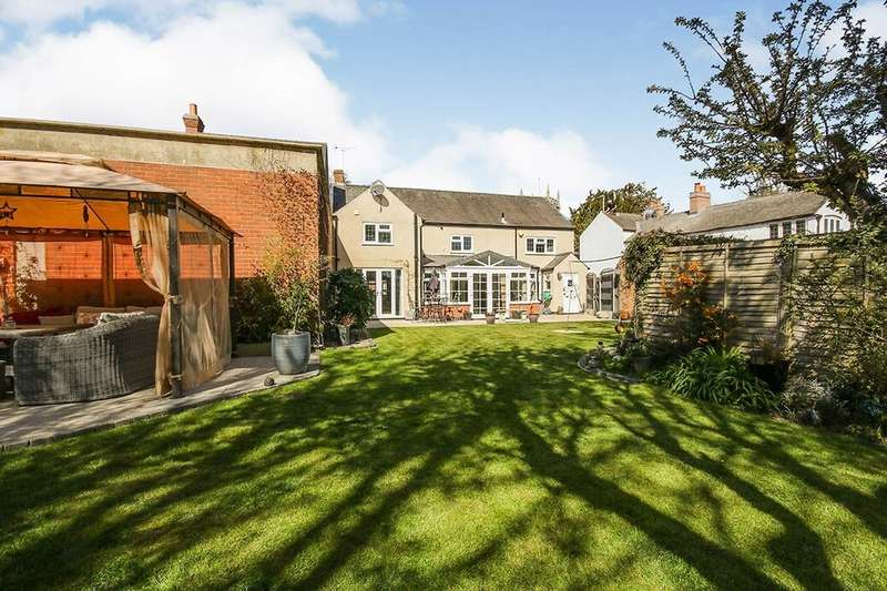 4 Bedrooms Detached House for sale in Main Street, Countesthorpe, Leicester, LE8