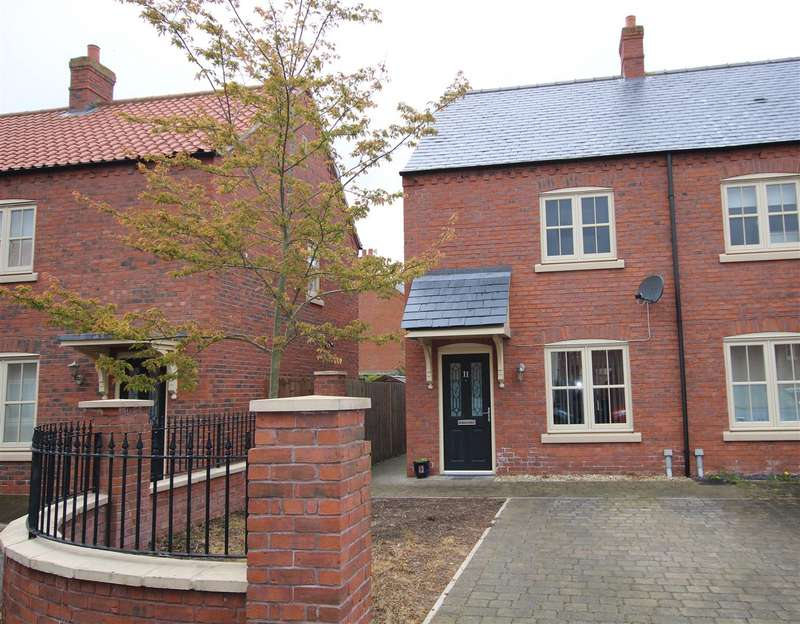 2 Bedrooms End Of Terrace House for sale in Poachers Chase, Wragby, Market Rasen
