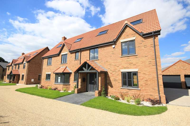 6 Bedrooms Detached House for sale in Hayfields, Greenfield Road, Flitton, MK45