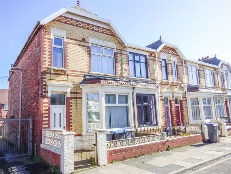 3 Bedrooms End Of Terrace House for sale in Mayfield Avenue, South Shore, Blackpool