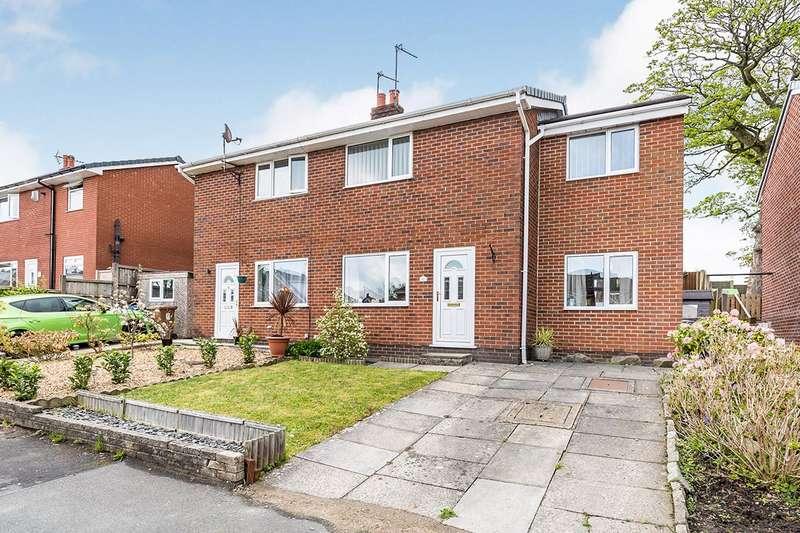 3 Bedrooms Semi Detached House for sale in Hawkshead Avenue, Euxton, Chorley, Lancashire, PR7
