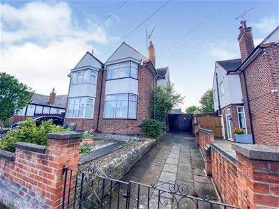 3 Bedrooms Semi Detached House for sale in Gimson Road, Western Park, Leicester