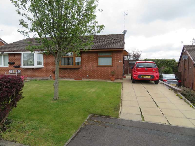 2 Bedrooms Semi Detached Bungalow for sale in Duchess Park Close, Shaw
