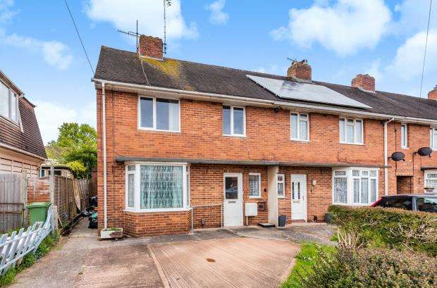 3 Bedrooms End Of Terrace House for sale in Lower Wear Road, Countess Wear, Exeter, Devon