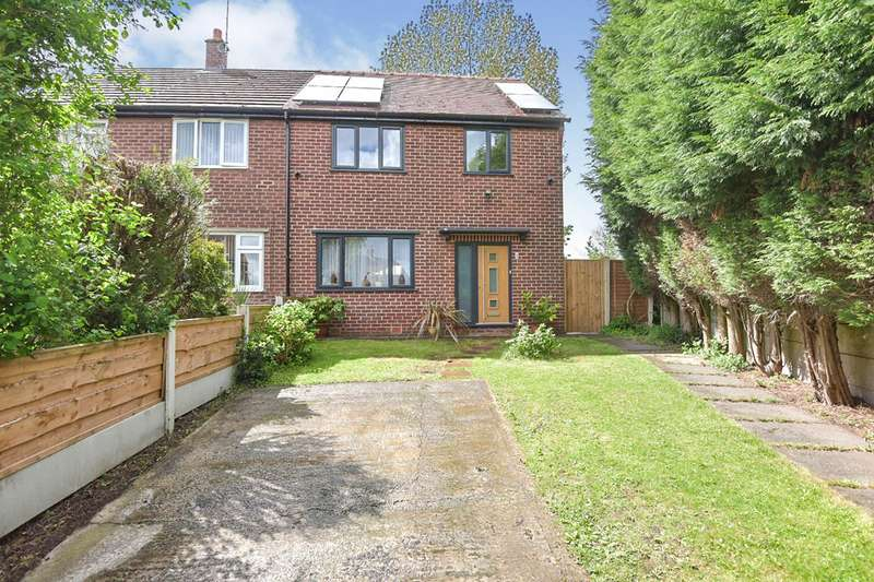 3 Bedrooms Semi Detached House for sale in Carrgate Road, Denton, Manchester, Greater Manchester, M34