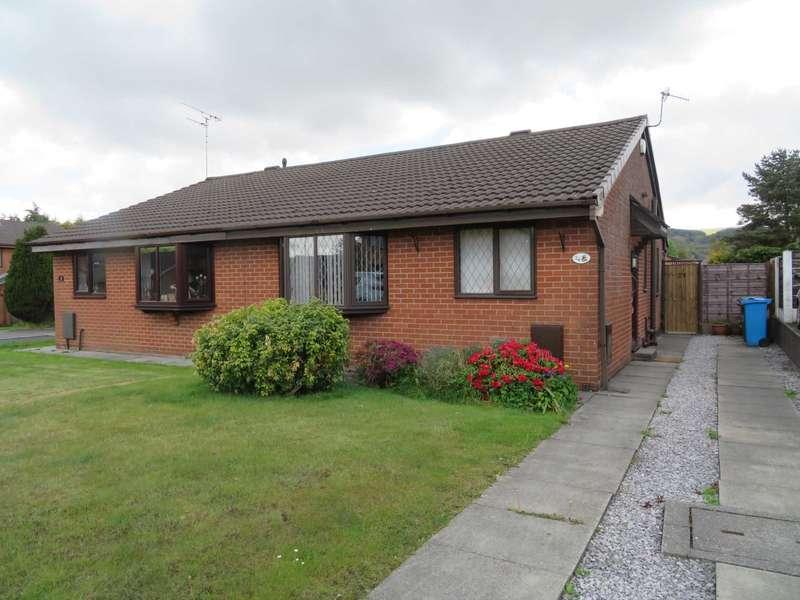 2 Bedrooms Semi Detached Bungalow for sale in Buckinghamshire Park Close, Shaw