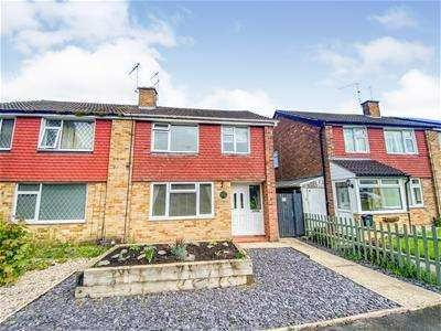 3 Bedrooms Semi Detached House for sale in Shanklin Gardens, Leicester Forest East, Leicester