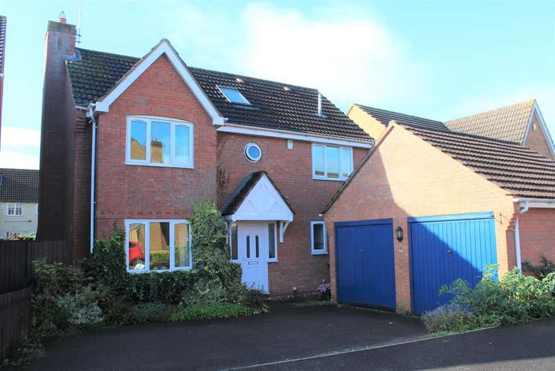 5 Bedrooms Detached House for sale in Whimbrel Road, Quedgeley, Gloucester, GL2