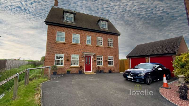 5 Bedrooms House for sale in Irwin Road, Blyton, Gainsborough, DN21