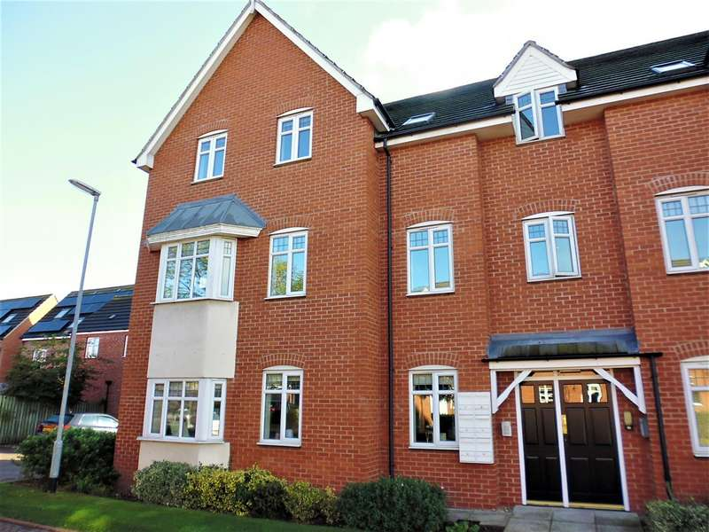 2 Bedrooms Flat for sale in Kirkstall Close, Lincoln