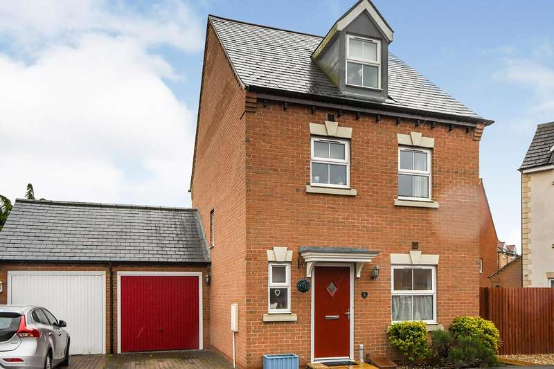 4 Bedrooms Detached House for sale in Nero Way, North Hykeham, Lincoln, Lincolnshire, LN6