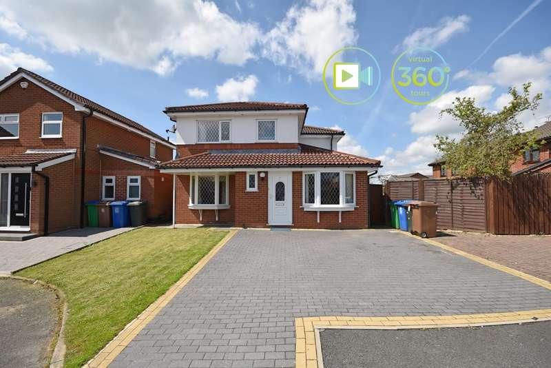 5 Bedrooms Detached House for sale in Watercroft, Norden, OL11 5PH