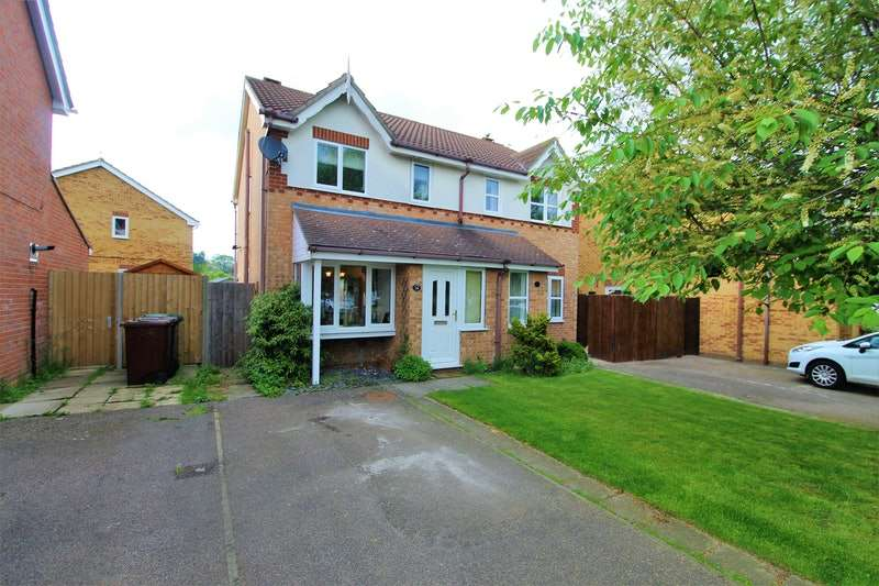 2 Bedrooms Semi Detached House for sale in Admiral Walk, Lincoln, Lincolnshire, LN2