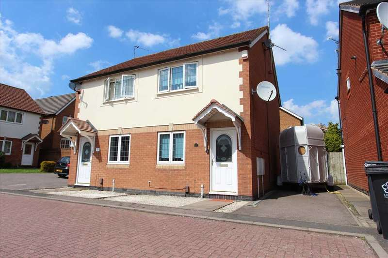 2 Bedrooms Semi Detached House for sale in Bramham Close, Leicester