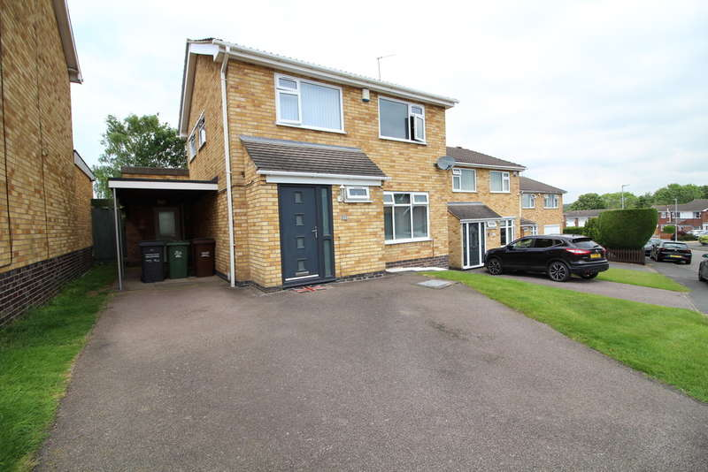 3 Bedrooms Detached House for sale in Countrymans Way, Shepshed