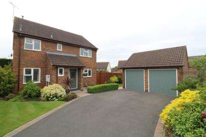 4 Bedrooms Detached House for sale in Long Meadow, Wigston, Leicester, Leicestershire