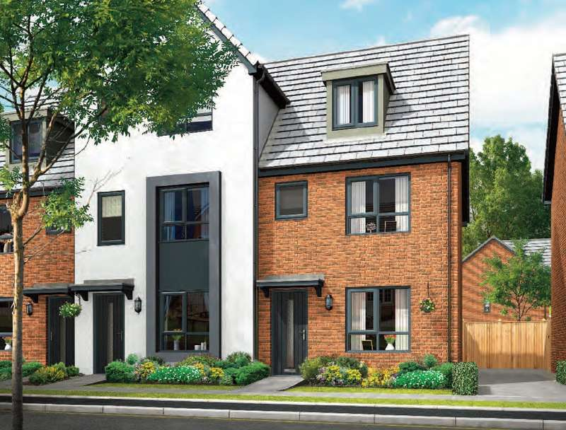 3 Bedrooms House for sale in Edward Street, Denton, Manchester, Greater Manchester, M34