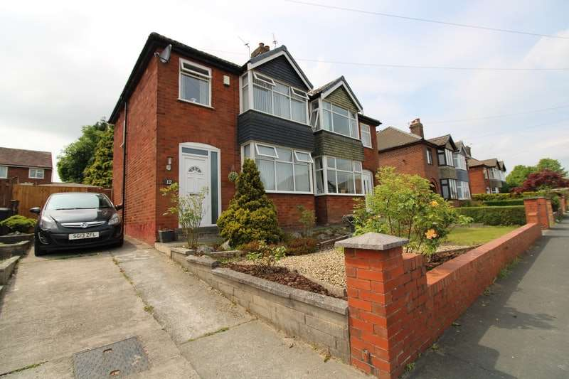 3 Bedrooms Semi Detached House for sale in Parkthorn Road, Preston, Lancashire, PR2