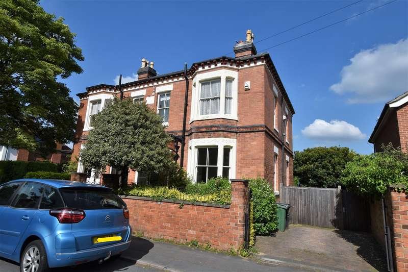 4 Bedrooms Semi Detached House for sale in Park Road, Loughborough