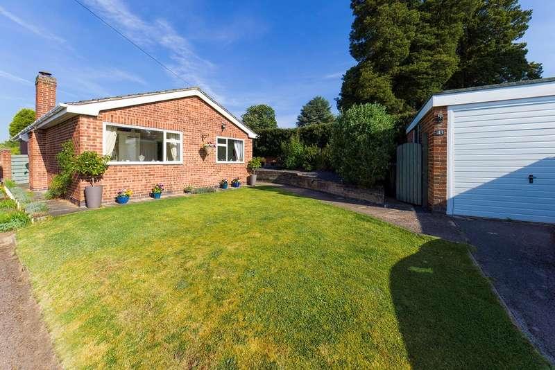 4 Bedrooms Detached Bungalow for sale in Trinity Close, Ashby-de-la-Zouch