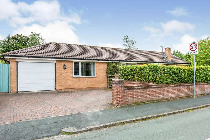 3 Bedrooms Detached Bungalow for sale in Cadogan Drive, Wigan, Greater Manchester, WN3