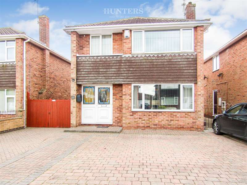 3 Bedrooms Detached House for sale in Enderby Crescent, Gainsborough, DN21 1XQ