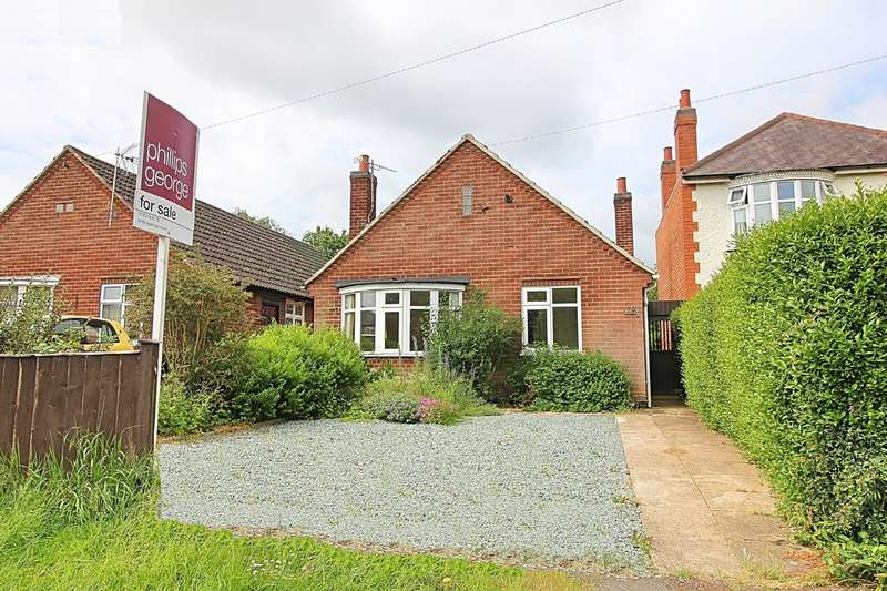 2 Bedrooms Detached Bungalow for sale in Leicester Road, Wigston, Leicester