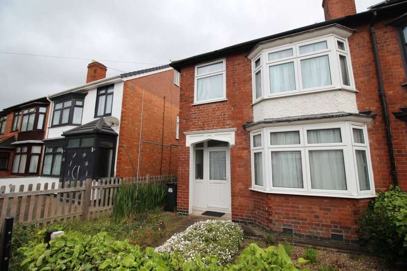 3 Bedrooms Semi Detached House for sale in Blanklyn Avenue, Leicester, LE5