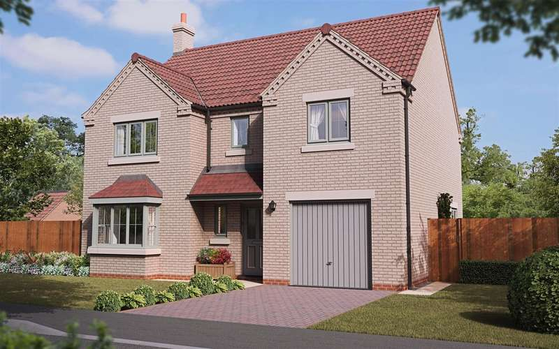 4 Bedrooms Detached House for sale in Dunston Road, Metheringham, Lincoln