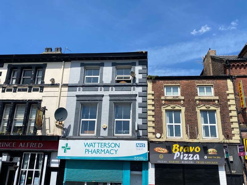 2 Bedrooms Flat for rent in High Street, Wavertree, Liverpool