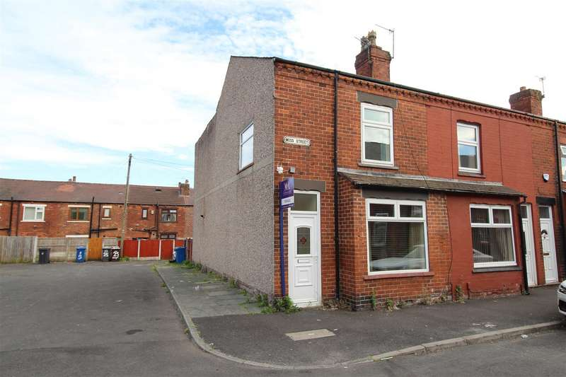 3 Bedrooms House for sale in Moss Street, Springfield, Wigan, WN6 7LX