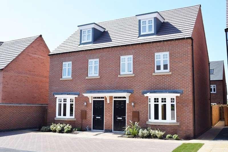 3 Bedrooms House for sale in Kennett, Burnmill Grange, Burnmill Road, Market Harborough, MARKET HARBOROUGH, LE16 7XB