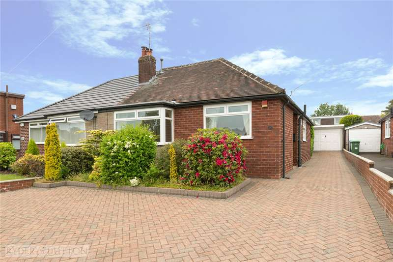 3 Bedrooms Semi Detached Bungalow for sale in North Downs Road, High Crompton, Shaw, Oldham, OL2