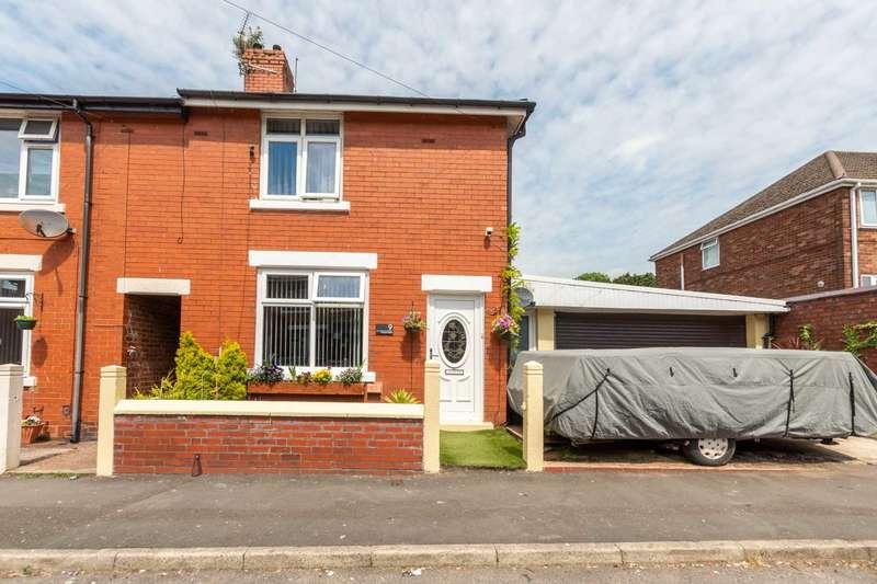 2 Bedrooms End Of Terrace House for sale in Chapel Walks, Kirkham, PR4 2TA