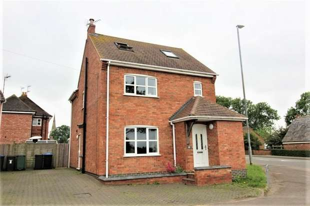 4 Bedrooms Detached House for sale in Toms Close, Theddingworth, Leicestershire
